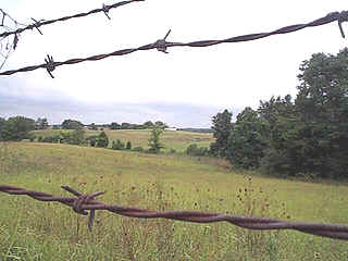 A field in Adams, TN, home of the Bell Witch